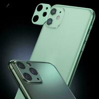 For iPhone 11 Pro Max Back Camera Metal Len Screen Case Ring Protector New C8G8