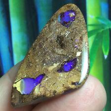 35.70ct Australian Boulder Opal Opalized Petrified WOOD Fossil Stone ~ Zen Opals