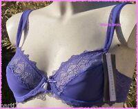 SOUTIEN GORGE SIMONE PERELE MUSE violet FR85B/EU70B/INT32B***dentelle et drapé**