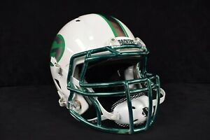 Green Bay Packers Custom Full Size Authentic Helmet w/ Chrome Decals