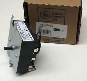 WE4M533 GE General Electric Dryer Timer Control OEM AP5780508 PS8690648