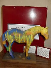 Trail Of Painted Ponies Saguaro Stallion Signed 1E6180 FREE FAST INSURED SHIP!