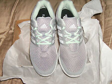 Womens Adidas Galaxy Elite FF Running Shoes Grey/Whi Sneakers AF4592 NEW $79.00
