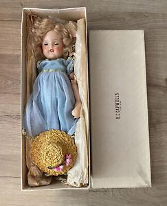 """Vintage Madame Alexander Princess Elizabeth Composition Doll Tagged Dress 19.5"""""""
