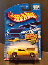 2002 Hot Wheels #116 '71 Plymouth GTX - 55001