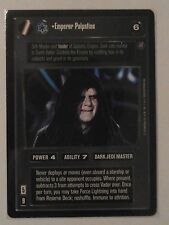 Star Wars ccg M/NM Emperor Palpatine Ultra Rare UR Death Star II card
