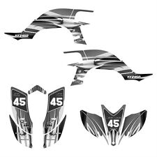 YFZ 450 graphics 2003 2004 2005 2006 2007 2008 Yamaha sticker kit #1300 Metal