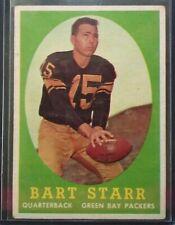 1958 Topps ~Bart Starr~ #66 Green Bay Packers Hall of Famer