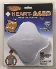 Markwort Heart-Gard Youth Chest Protective Body Shirt Extra Large White - NEW