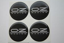 OZ racing emblem 55mm wheel center cap sticker logo badge wheel trims Carbon