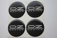 OZ racing emblem 50mm wheel center cap sticker logo badge wheel trims Carbon