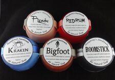 Lot of 5 Men's Sample Soaps, Handmade Glycerin Soap, Shave & Shampoo Sampler