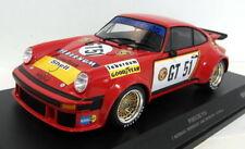 Véhicules miniatures jaunes avec support pour Porsche