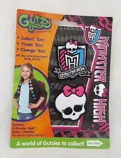 Monster High Gutzy Gear Patch Sew Patches Skullette Skull Halloween Goth Gothic