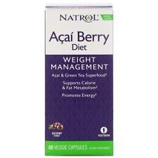 ACAI Berry & Green Tea EGCg Extract Blend 60Veg Caps   Weight Loss Diet Slimming