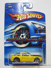 HOT WHEELS 2006 2005 FORD MUSTANG GT #184 YELLOW