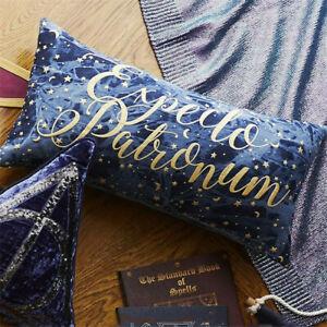 Harry Potter Bed Pillow Cushion Expecto Patronum Blue Pillow 30*60cm Home Decor