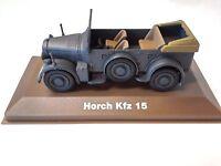 HORSCH Kfz 15 MILITAIRE ATLAS 1/43 SECONDE GUERRE MONDIALE TANK CHAR 29