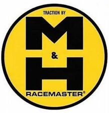 Nostalgic M&H Racemaster Traction Vinyl Decal Sticker 4023
