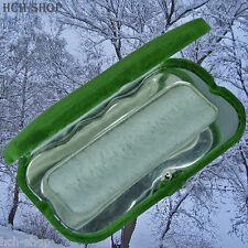 MFH Handwärmer Taschenwärmer Taschenofen grün mit Stoffbeutel und 12 Brennstäbe