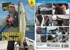 Gros brochets au jerk-bait (2 DVD) avec Alban Choinier - Pêche des carnassiers -