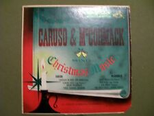 CARUSO & McCORMACK CHRISTMAS MUSIC  RCA VICTOR LONG PLAY LCT-1121