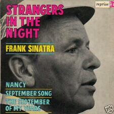 JAZZ SINGLE 45 FRANK SINATRA STRANGERS IN THE NIGHT 4tr