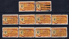 United States #1357(1) 1968 6 cent FOLKLORE - DANIEL BOONE 10 Used