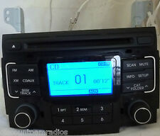 11 12 2011 2012 Hyundai Sonata Am FM Radio Cd Mp3 Player 96180-3Q001 Bulk 707