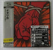 Metallica-ST. Anger GIAPPONE SHM MINI LP CD OBI NUOVO! UICY - 94669