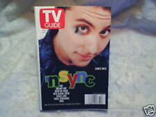 2000 TV GUIDE 'N SYNC Lance Bass