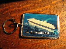 MS Zuiderdam Keyring - Holland America Lines Vista Cruise Ship Souveir Keychain