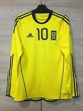 Scotland 2010-11 Match Issue Away Football Soccer Adidas Formotion Shirt Jersey