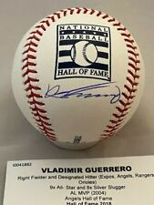 Vladimir Guerrero - Signed Auto Rawlings HOF Logo Baseball - JSA and Tristar