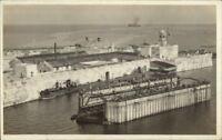 Puerto Rico? (Written on Back) Cuba? Dominican Republic? Docks c1910 RPPC