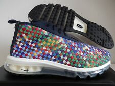 "NIKE AIR MAX WOVEN BOOT 2013 DARK OBSIDIAN ""MULTI COLOR"" SZ 9.5 [AH8139-400]"