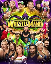 WWE WrestleMania 34 [3x DVD] *NEU* DEUTSCH Hall of Fame Ceremony 2018 WM XXXIV