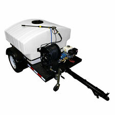 Cam Spray Professional 4000 PSI (Gas-Cold Water) Trailer Pressure Washer