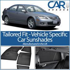Mazda 6 5 dr 2002-07 UV CAR SHADES WINDOW SUN BLINDS PRIVACY GLASS TINT BLACK