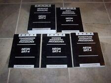 2005 Dodge Neon Shop Service Repair & Diagnostic Manual SE SXT SRT-4 2.0L 2.4L