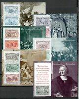 s33876 USA MNH NUOVI 1992 C. Colombo n 6 BF  Columbus