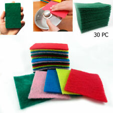 30 Ct Scouring Pads Medium Duty Home Kitchen Scour Scrub Cleanning Pad Wholesale