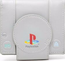 Sony Playstation One Console Bi-Fold Wallet Grey (Mw128823sny)
