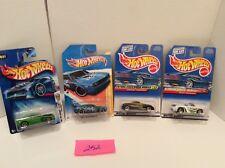 Lot of 4 Mixed HotWheels Rapid Transit, 2011 Dodge Challenger, Thunderbolt #252