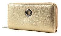 MANDARINA DUCK Mellow Leather L Wallet Geldbörse Gold Neu