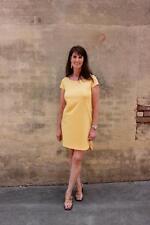 NWT Eileen Fisher XL Cantalope Organic Cotton Stretch Jersey Ballet Neck Dress