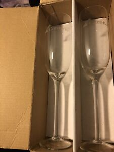 Carnival Champagne Flutes Set of 2 Brand New