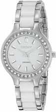 DKNY Women's NY8139 Analog White Dial Two-Tone Bracelet Watch