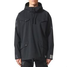 adidas Mens White Mountaineering Pull Over Hooded Jacket Windbreaker Hoodie Coat