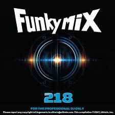 Funkymix 218 CD Flo Rida G-Eazy Nicki Minaj MGK Future Rihanna Hip Hop For DJs